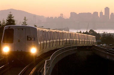 Bay Area Rapid Transit - BART  (Photo credit: Getty Images)