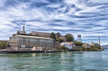 A view of Alcatraz Island from the ferry on arrival (Photo credit: Ian Whitworth/Dreamstime)