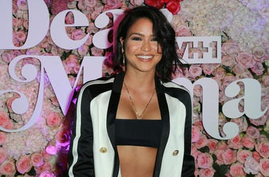 """LOS ANGELES, CA - MAY 03: Music artist Cassie Ventura attends the VH1's 3rd Annual """"Dear Mama: A Love Letter To Moms"""" - Cocktail Reception at The Theatre at Ace Hotel on May 3, 2018 in Los Angeles, California. (Photo by Leon Bennett/Getty Images)"""