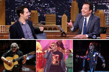 'The Tonight Show starring Jimmy Fallon' broadcast from Puerto Rico will showcase artists with ties to the U.S. territory. (Photo credit: AP Photos)