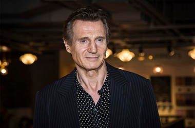 In this Tuesday, Sept. 13, 2016 file photo, actor Liam Neeson poses for photographers upon his arrival at the premiere of the film 'Hunt For The Wilderpeople' in London. Liam Neeson says he had violent thoughts some time ago about killing a black person a