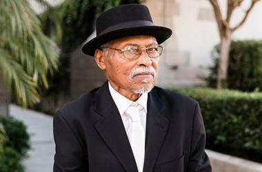 """This image provided by one of his sons via Sarah Mack Photo shows actor Nathaniel Taylor, who played the role of Rollo Dawson in the hit 1970s sitcom """"Sanford and Son."""" Taylor died Wednesday, Feb. 27, 2019, in Los Angeles, at the age of 80. (Sarah Mack Ph"""