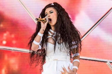 In this April 22, 2018 file photo, Cardi B performs at the Coachella Music & Arts Festival at the Empire Polo Club in Indio, Calif. (Photo by Amy Harris/Invision/AP, File)