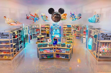 This image provided by Target Brand Inc and Disney shows an artist rendering of a store. (Target Brand Inc. and Disney via AP)