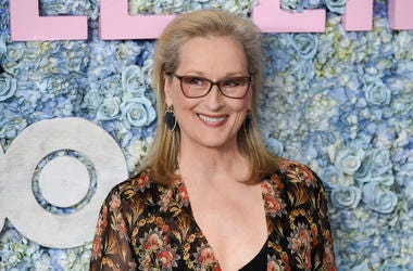 """This May 29, 2019 file photo shows actress Meryl Streep at the premiere of HBO's """"Big Little Lies"""" season two in New York. (Photo by Evan Agostini/Invision/AP, File)"""