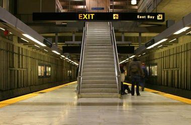 Balboa Park BART platform (Photo credit: Dreamstime)