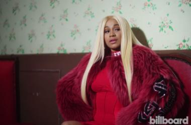 Rapper Cardi B during a photo shoot for Billboard