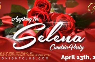 Anything For Selena Cumbia Party Hosted by Chuy Gomez