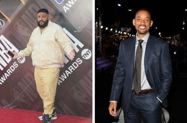 DJ Khaled and Will Smith (Photo credit: © Sipa USA / Kevin Winter/Getty Images)