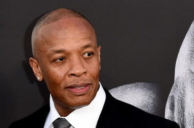 "Producer Dr. Dre arrives at the premiere screening of HBO's ""The Defiant Ones"" at Paramount Studios on June 22, 2017 in Los Angeles, California"