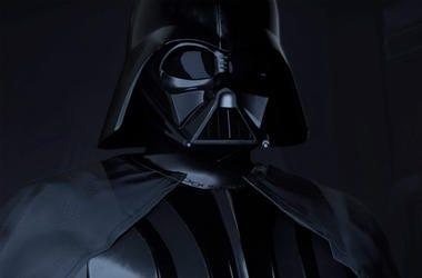 "Darth Vader in ""Vader Immortal"" (Photo credit: ILMxLAB/Lucasfilm)"
