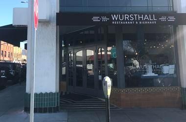 Wursthall | Restaurant & Bierhaus (Photo credit: Keith Menconi/ KCBS Radio)