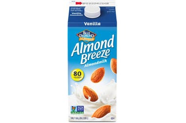 Vanilla Almond Breeze almond milk