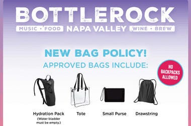 BottleRock Announces New Bag Policy For Festival