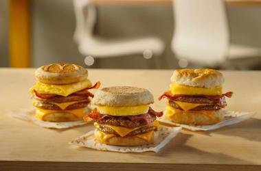 McDonald's Triple Breakfast Stacks