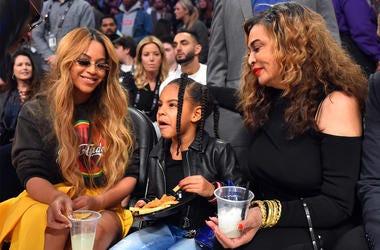 Beyoncé, Blue Ivy and Tina Knowles