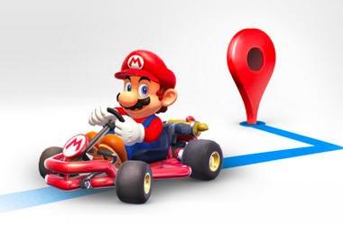 Mario on Google Maps