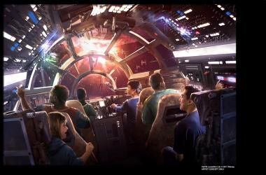 Concept Millennium Falcon Ride Design