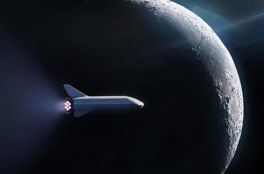 SpaceX Lunar BFR