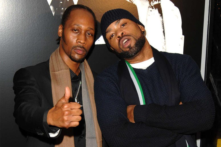 Rza and Method Man of Wu-Tang Clan