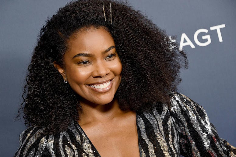 """HOLLYWOOD, CA - SEPTEMBER 10: Gabrielle Union arrives at """"America's Got Talent"""" Season 14 Live Show Red Carpet at Dolby Theatre on September 10, 2019 in Hollywood, California. (Photo by Gregg DeGuire/Getty Images)"""