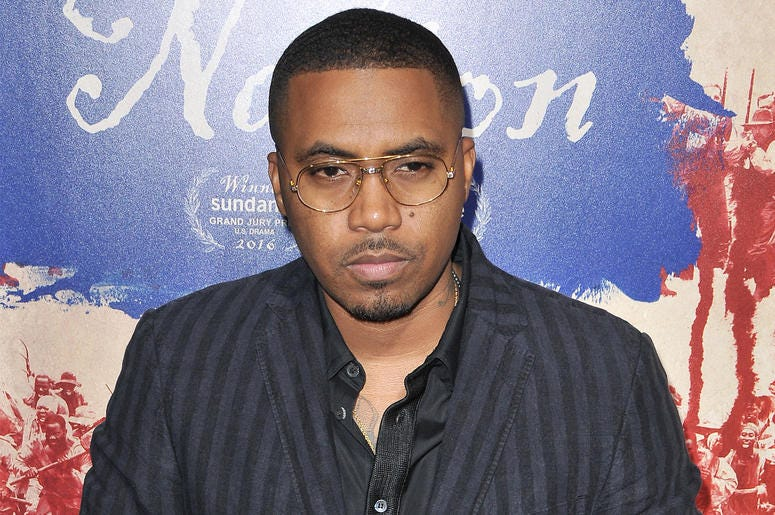 """Nas arrives at """"The Birth Of A Nation"""" Los Angeles Premiere held at the Cinerama Dome in Los Angeles, CA on Wednesday, September 21, 2016. (Photo By Sthanlee B. Mirador)"""