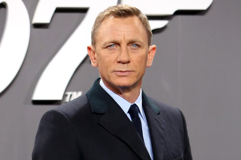 BERLIN, GERMANY - OCTOBER 28: Actor Daniel Craig attends the German premiere of the new James Bond movie 'Spectre' at CineStar on October 28, 2015 in Berlin, Germany. (Photo by Adam Berry/Getty Images for Sony Pictures)