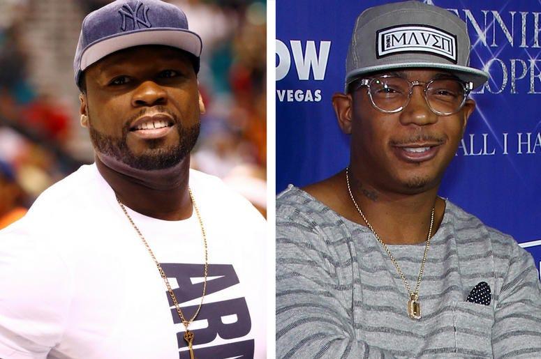 50 Cent and Ja Rule (Photo credit: Sipa USA)