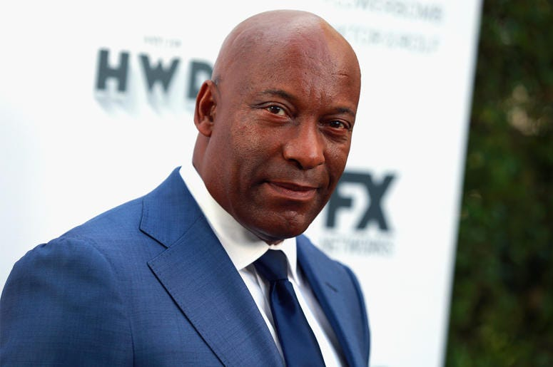 CENTURY CITY, CA - SEPTEMBER 16: John Singleton attends FX and Vanity Fair Emmy Celebration at Craft on September 16, 2017 in Century City, California. (Photo by Rich Fury/Getty Images)