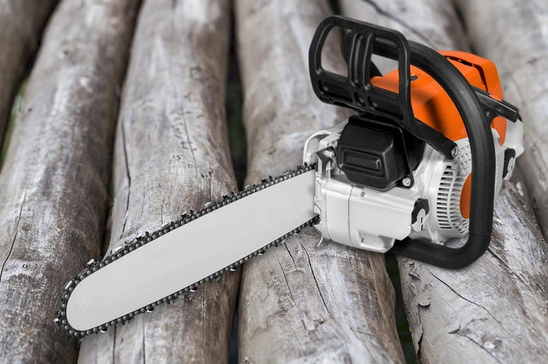 Chainsaw (Photo credit: Getty Images)