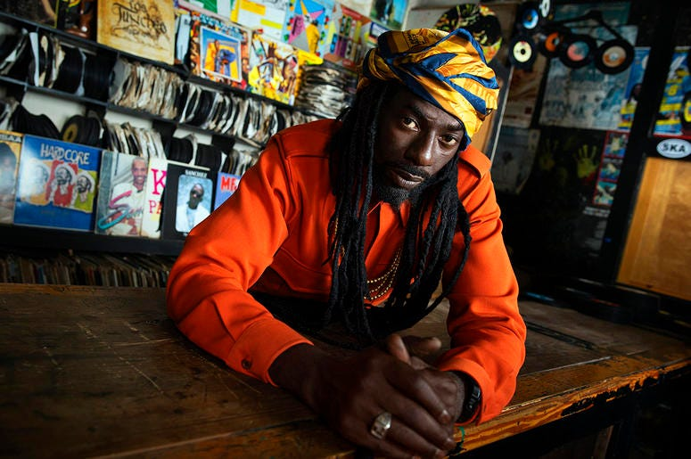 This undated photo provided by shows reggae star Buju Banton. (Shawn Theodore/SMG via AP)