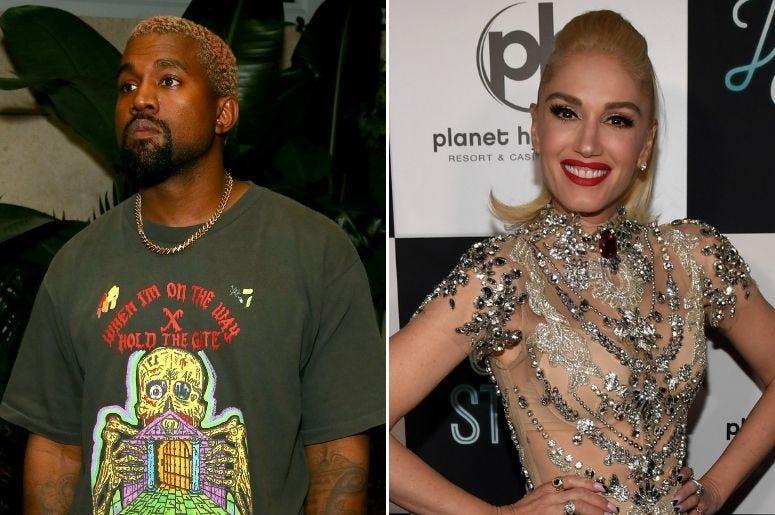 Kanye West and Gwen Stefani