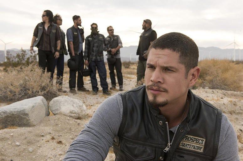 "JD Pardo as EZ Reyes in a scene from ""Mayans M.C."" (Photo credit: Prashant Gupta/FX Networks)"