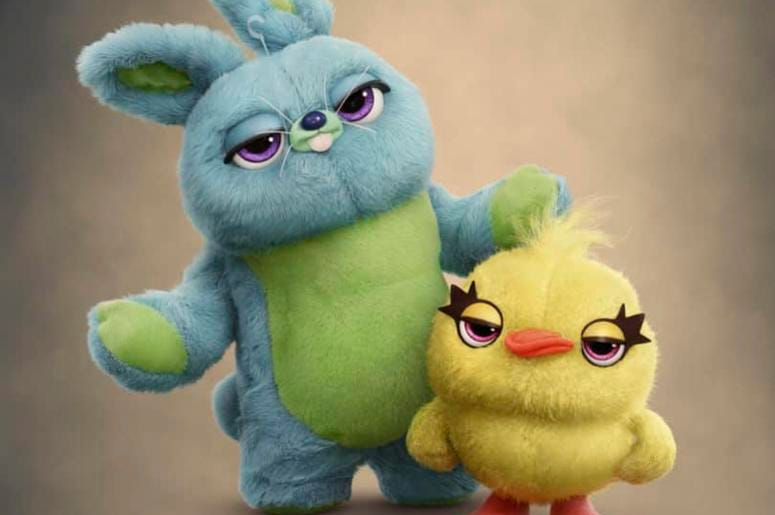 """Ducky and Bunny of """"Toy Story 4"""" (Photo credit: Disney•Pixar)"""