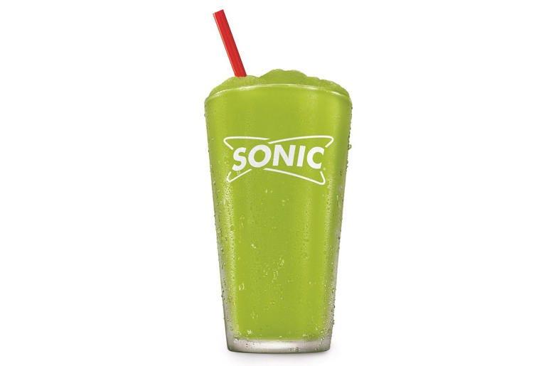 Sonic Drive-In Pickle Juice Slush