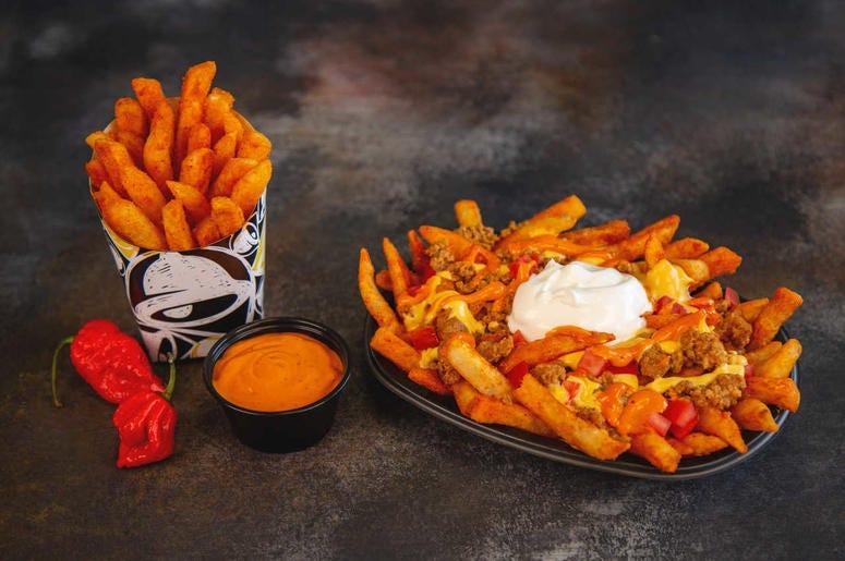 Taco Bell Reaper Nacho Fries