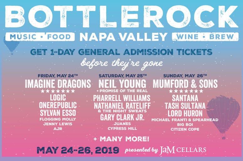 BottleRock Napa Valley