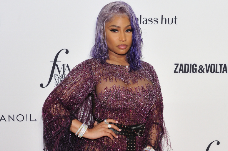Nicki Minaj attendsThe Daily Front Row 6th Annual Fashion Media Awards at the Park Hyatt NY