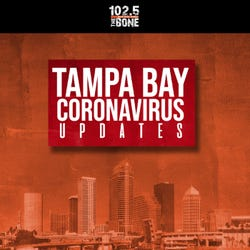 102.5 The Bone: Tampa Bay Coronavirus Updates