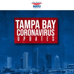 107.3 The Eagle: Tampa Bay Coronavirus Updates