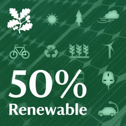 50% Renewable