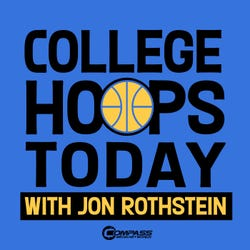 College Hoops Today with Jon Rothstein Podcast Logo