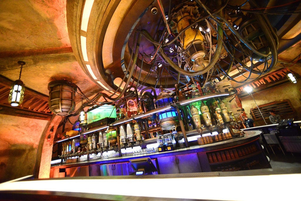 This $26.5 Million Mansion Comes with a 'Star Wars' Cantina