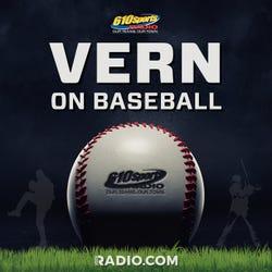 Vern On Baseball Podcast Logo