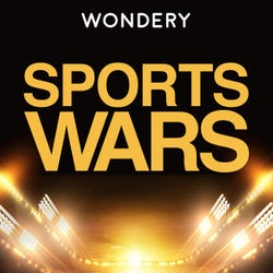 Wondery Sports Wars Podcast Logo