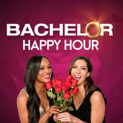 Bachelor happy hour podcast logo