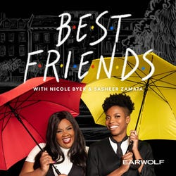 Best Friends with Nicole Byer and Sasheer Zamata Podcast Logo