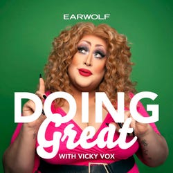 Doing Great With Vicky Vox Podcast Logo