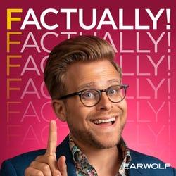Factually! with Adam Conover Podcast Logo
