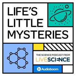Life's Little Mysteries Podcast Logo